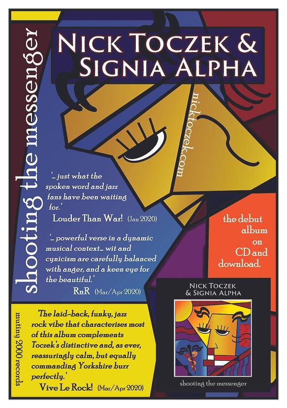 Nick Toczek Signia Alpha new album