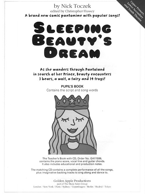 Sleeping Beauty's Dream: A Pantomime (the script)