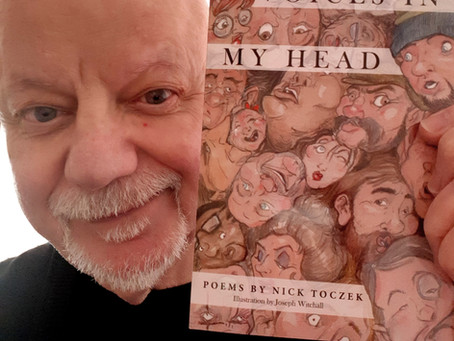 My new book – Voices In My Head – is out!