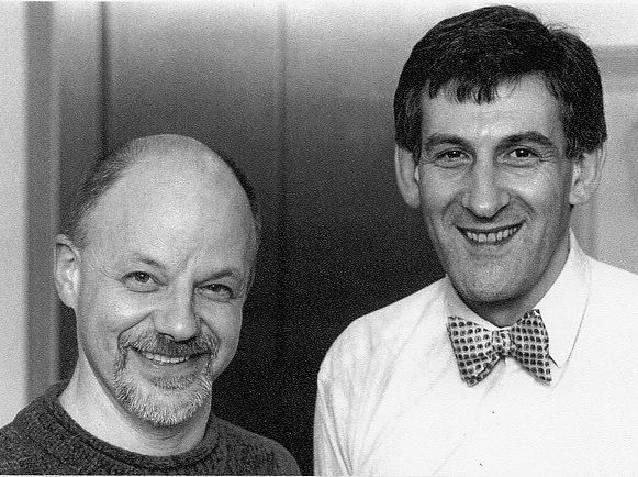 Nick Toczek and composer Malcolm Singer