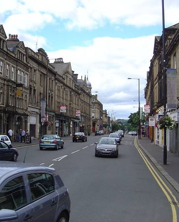 North Street, Keighley, recent photo