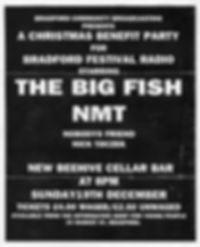 Bradford Festival Radio benefit gig poste 1993