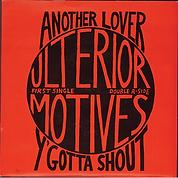 Ulteior Motives, Anothe Lover single cover
