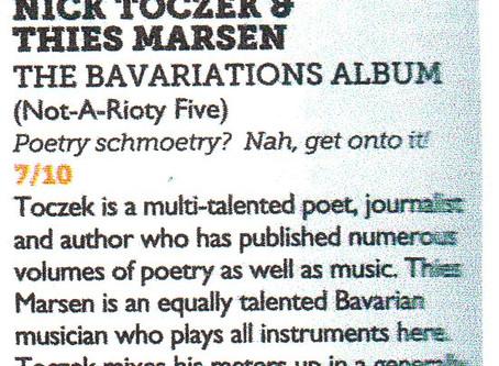 Vive Le Bavariations! Review of The Bavariations Album in Vive Le Rock