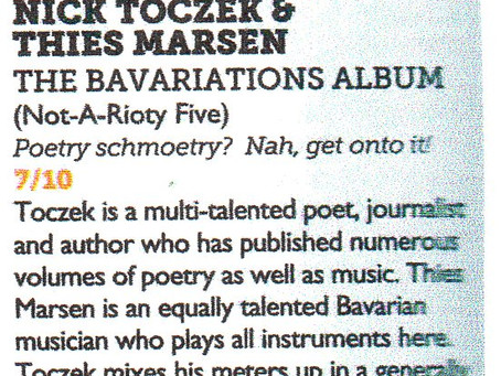Vive Le Bavariations! Review of The Bavariations Album in Vive Le Rock