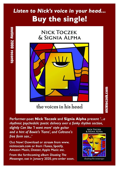 Nick Toczek & Signia Alpha The Voices In