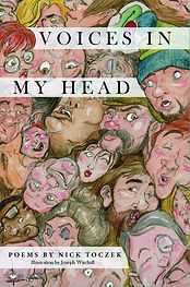 Voices In My Head by Nick Toczek, book c