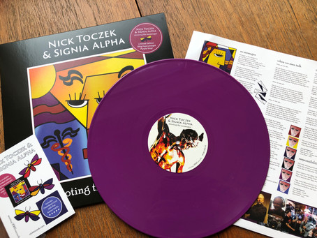 Limited Purple Vinyl Release of Shooting The Messenger!