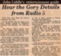 Radio 5, Keighley News - 23 April 1982
