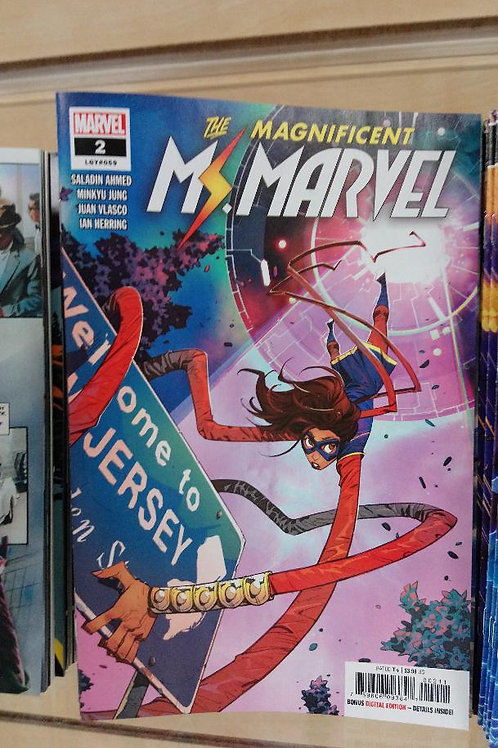 The Magnificent Ms. Marvel