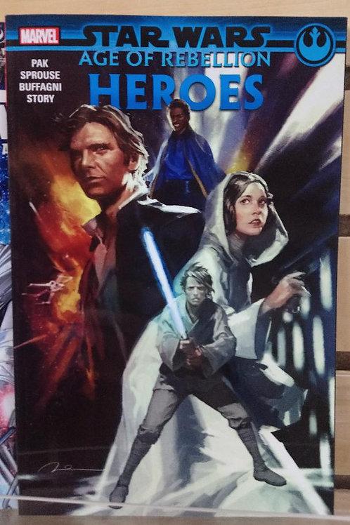Star Wars Age of Rebellion Heroes