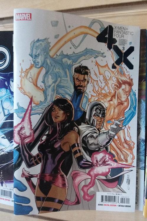 X-Men + Fantastic Four #3