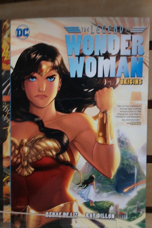 THE LEGEND OF WONDER WOMAN TP