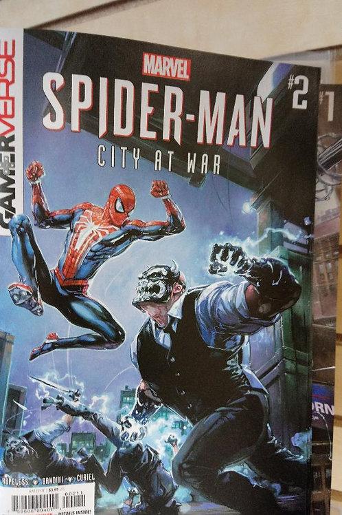 Spiderman City At War #2