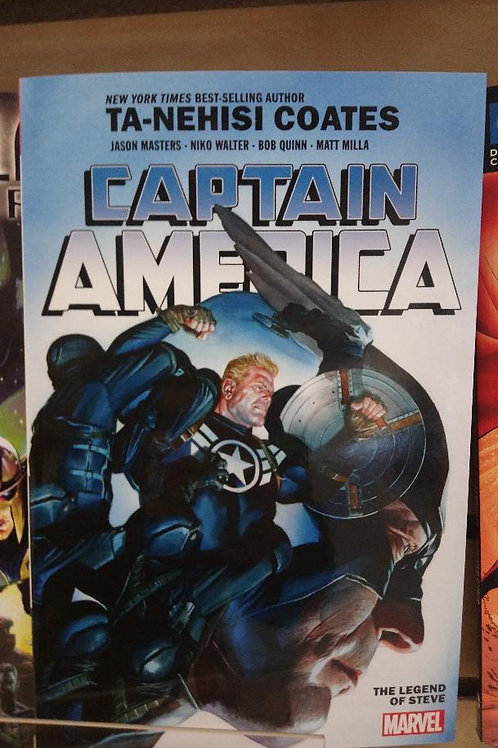 Captain America vol 3 The Legend of Steve