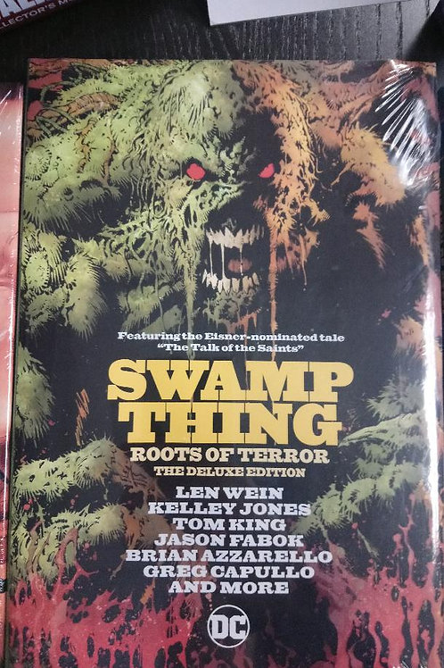 Swamp Thing Roots of Terror HC