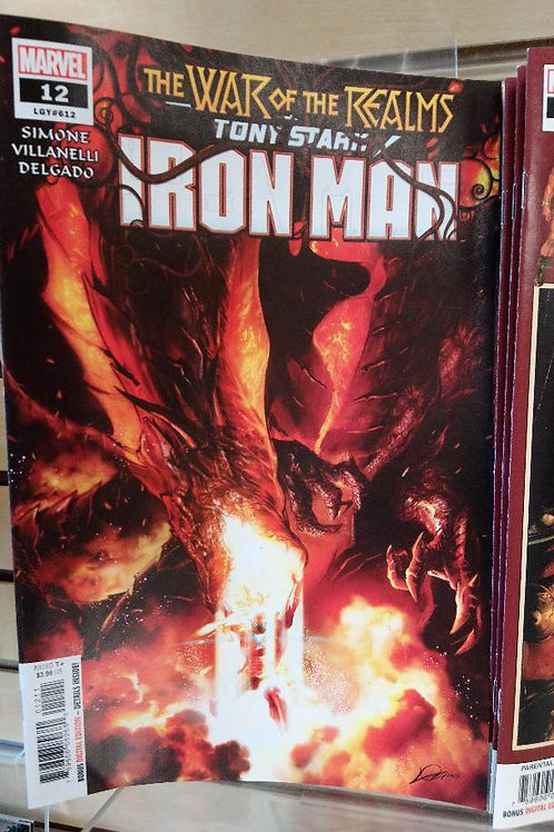 Tony Stark Iron Man #12