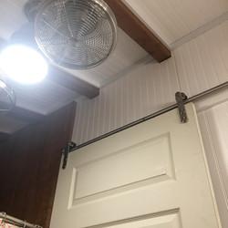 Bathroom Remodel with Barn Door