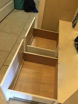 Mudroom Drawer Restoration