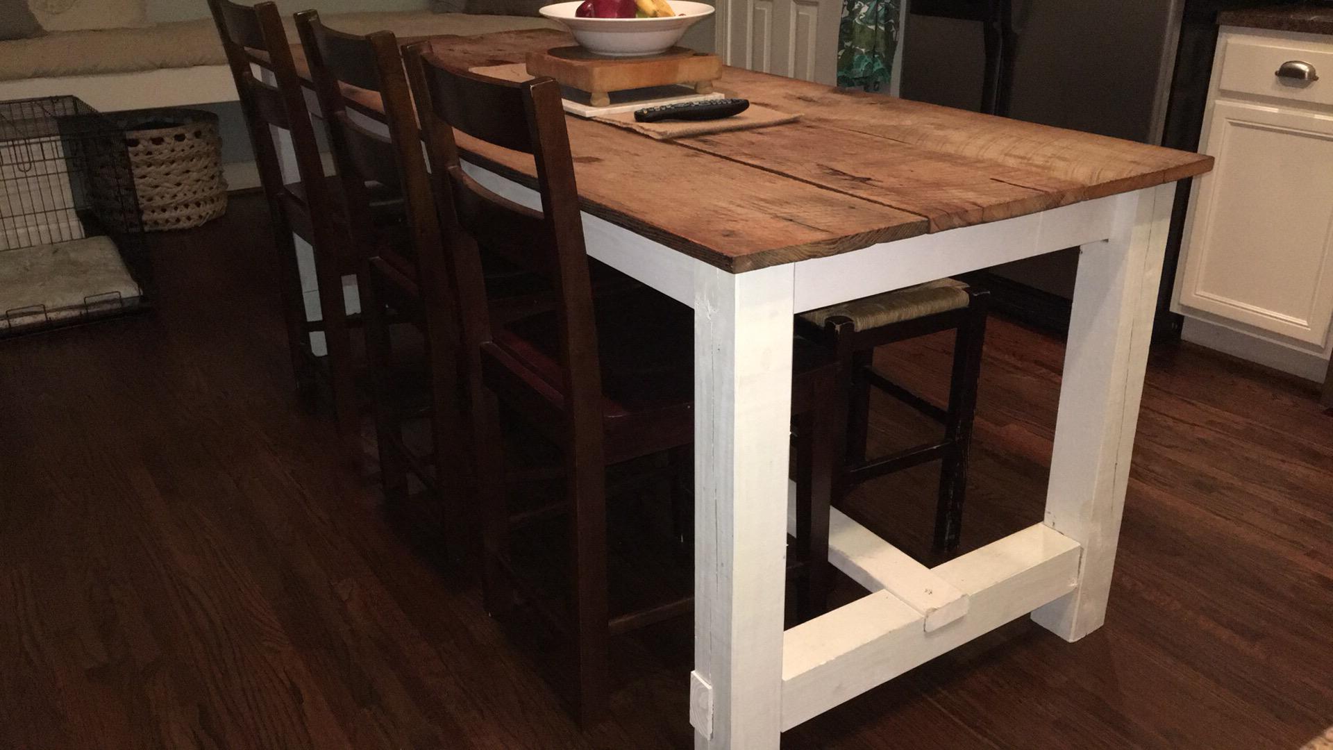 Barnwood Farmhouse Table
