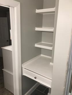 Linen Closet Reimagined