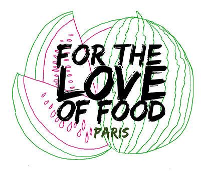 WATERMELON SUMMER  paris 2021 logo for the love of food paris