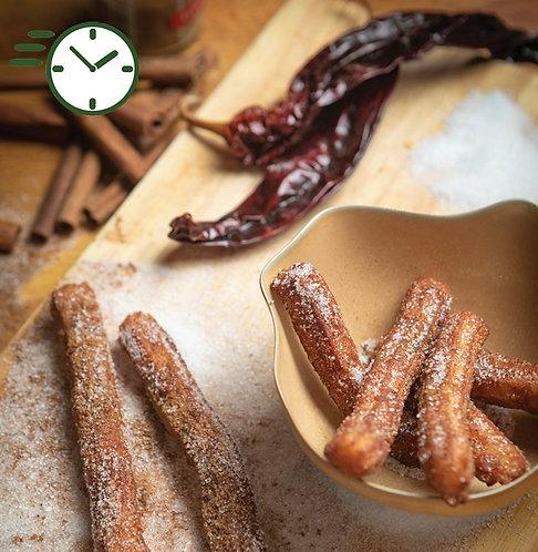 Recette Churros et chocolat d'Oaxaca-FTLOF