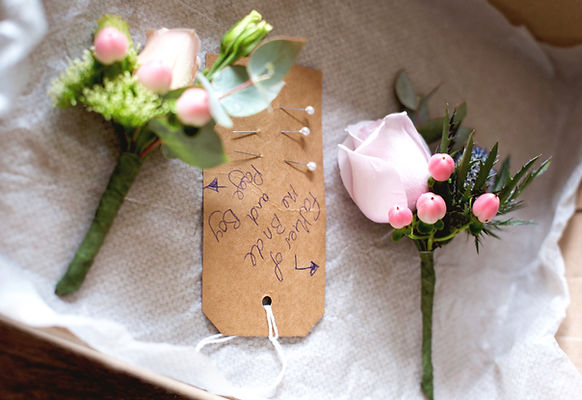 wedding boutonniere by buds to bouquets bright detailed & pretty