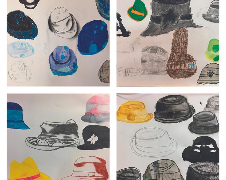 Observation : les chapeaux