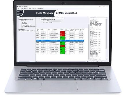 MDS Data Logger - laptop