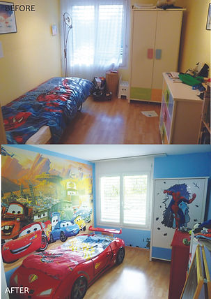 kids room makeover, lili giacobino