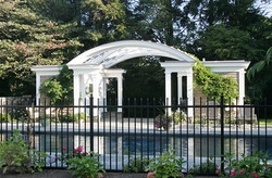 2 Schley Poolhouse from Lawn Circle