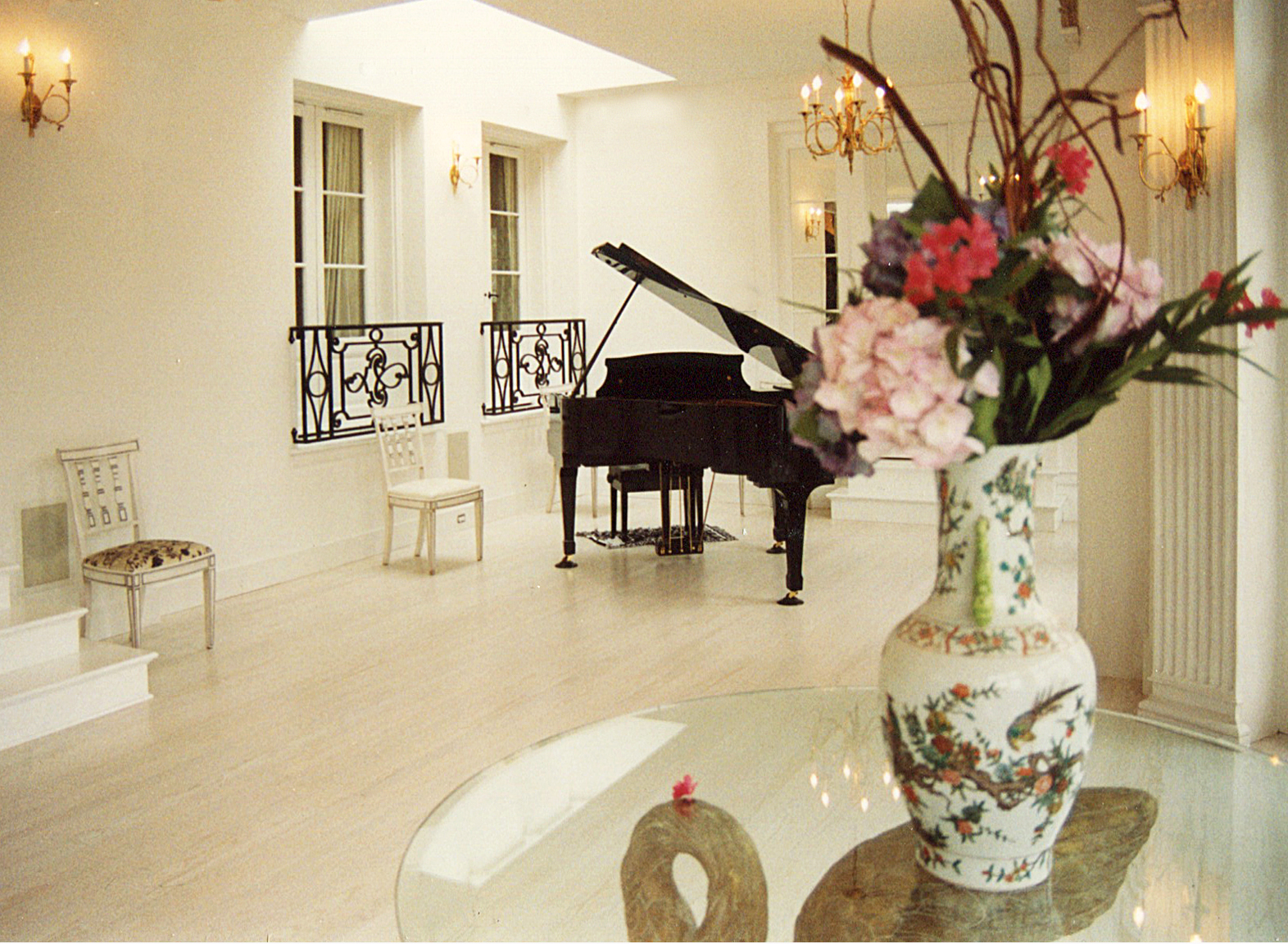 Piano in Kelly COnservatory