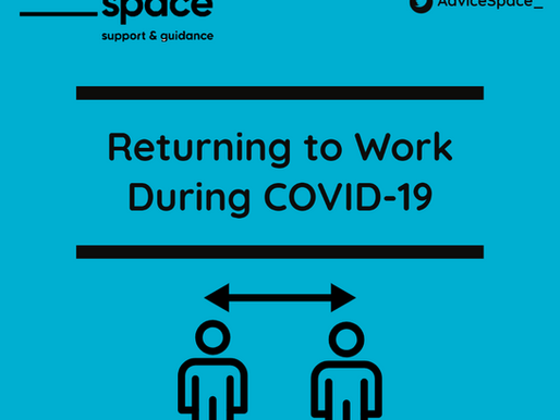 Returning to Work? What your employer should be doing to protect you.