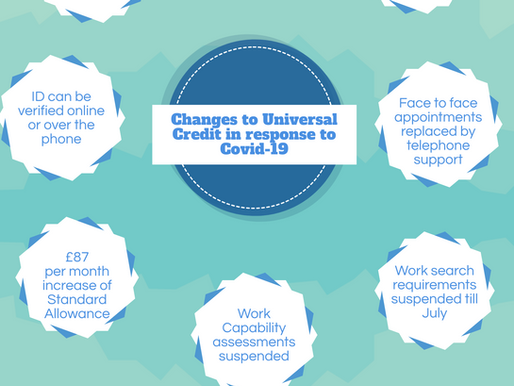 Changes to Universal Credit due to COVID-19