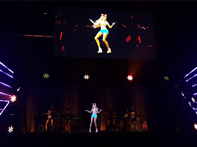 3D Character [Hologram Concert]