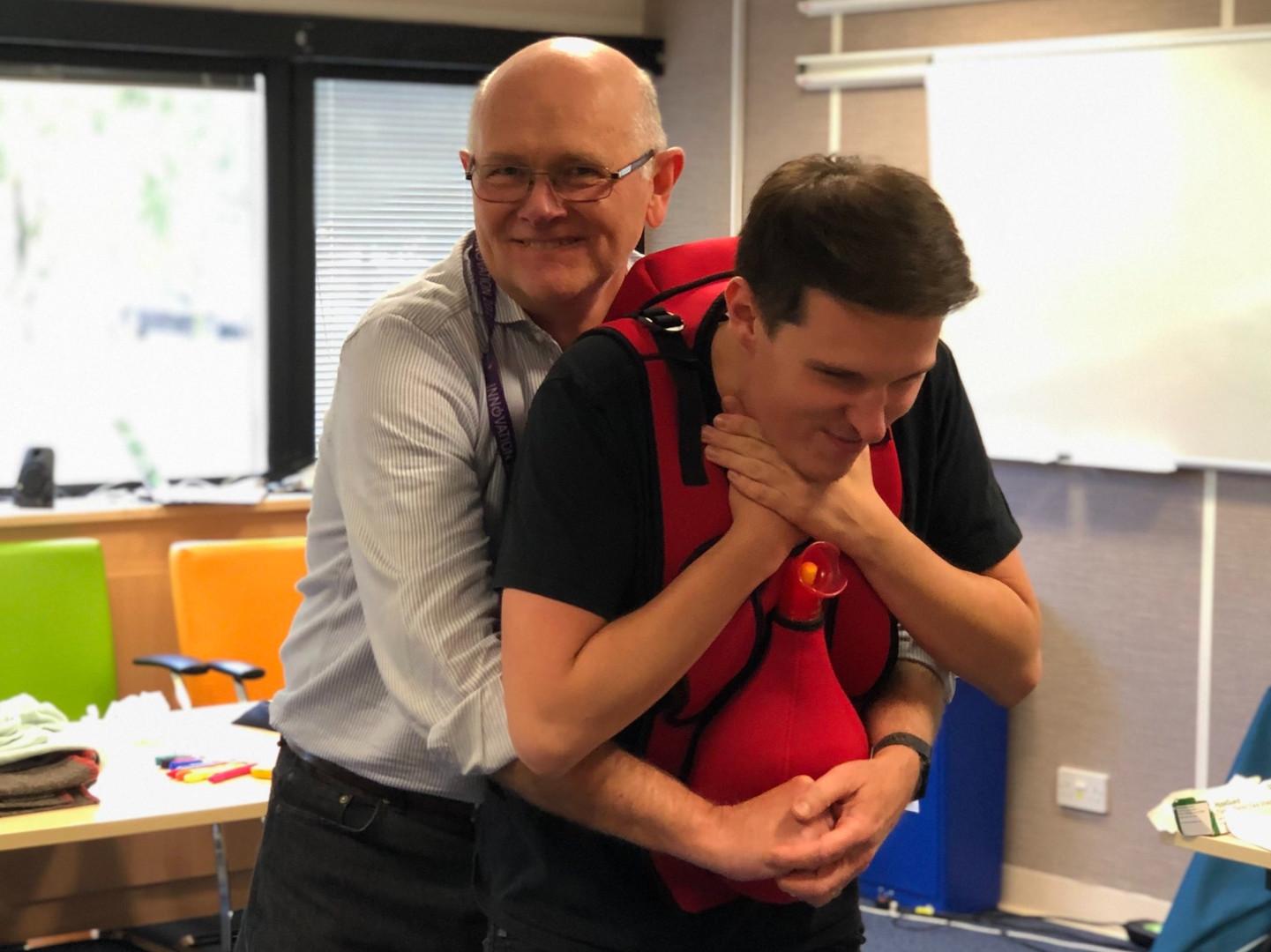 Choking training