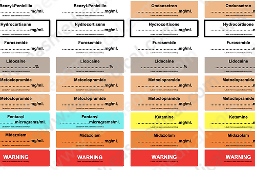 Drugs labels V1