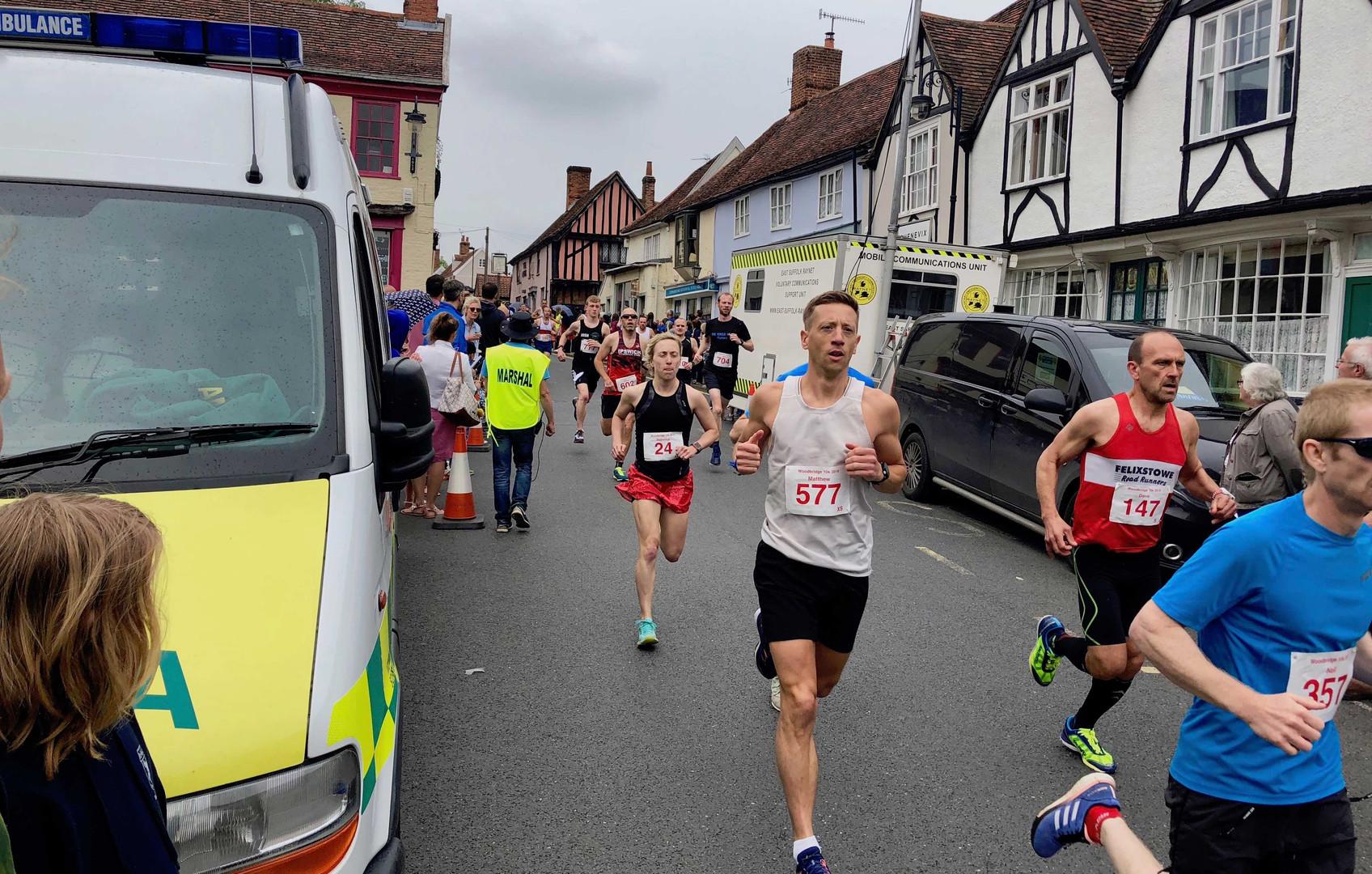 Running Event Ambulance