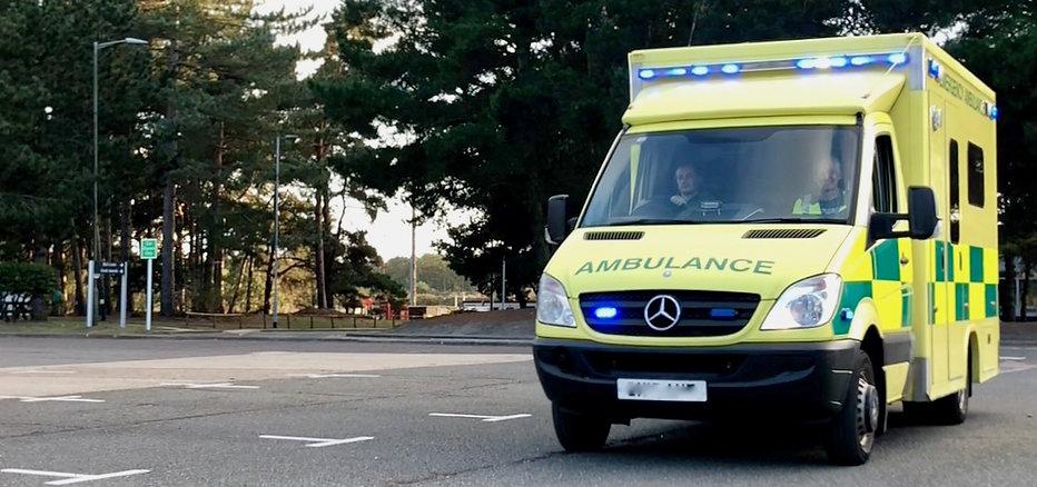 Ambulance Blue Lights
