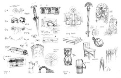 Pan's Labyrinth objects/form study