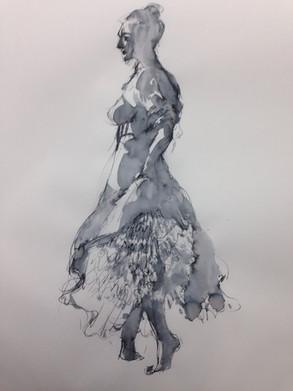 live model Ink