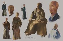 10-15mins pose Samurai