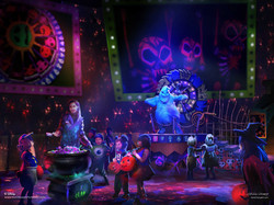 Oogie Boogie Stage