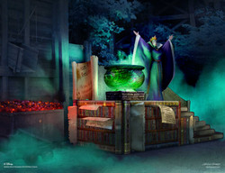 Wicked Queen Stage