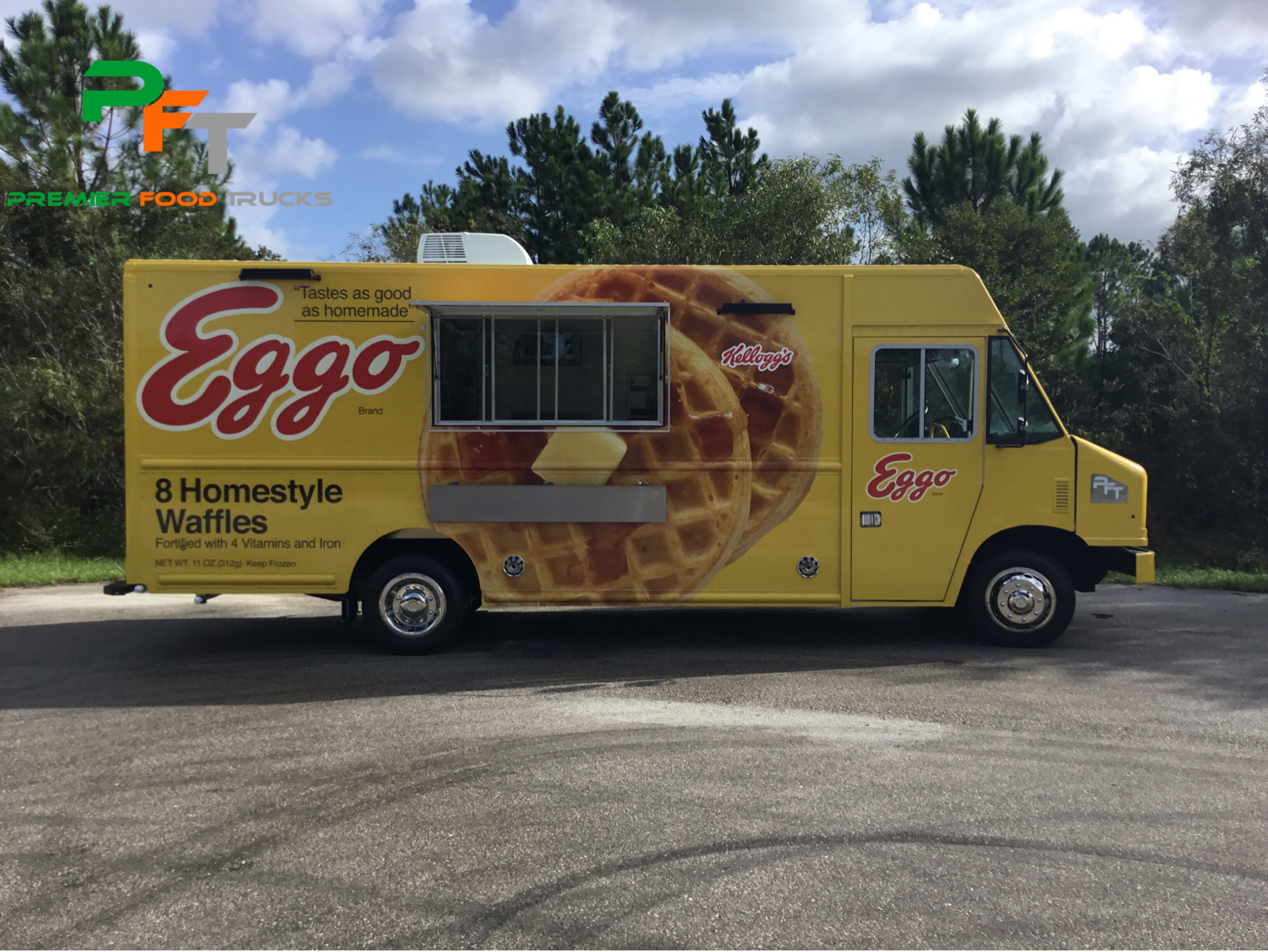 Custom Food Truck For Sale