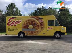 Custom Food Truck For Eggo Waffles