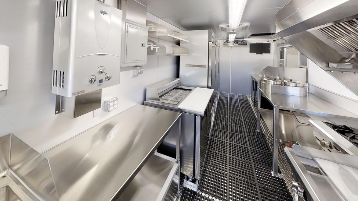 Custom Food Truck Kitchen For Sale
