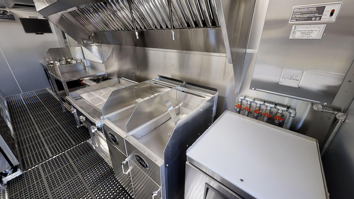 New Food Trailer For Sale