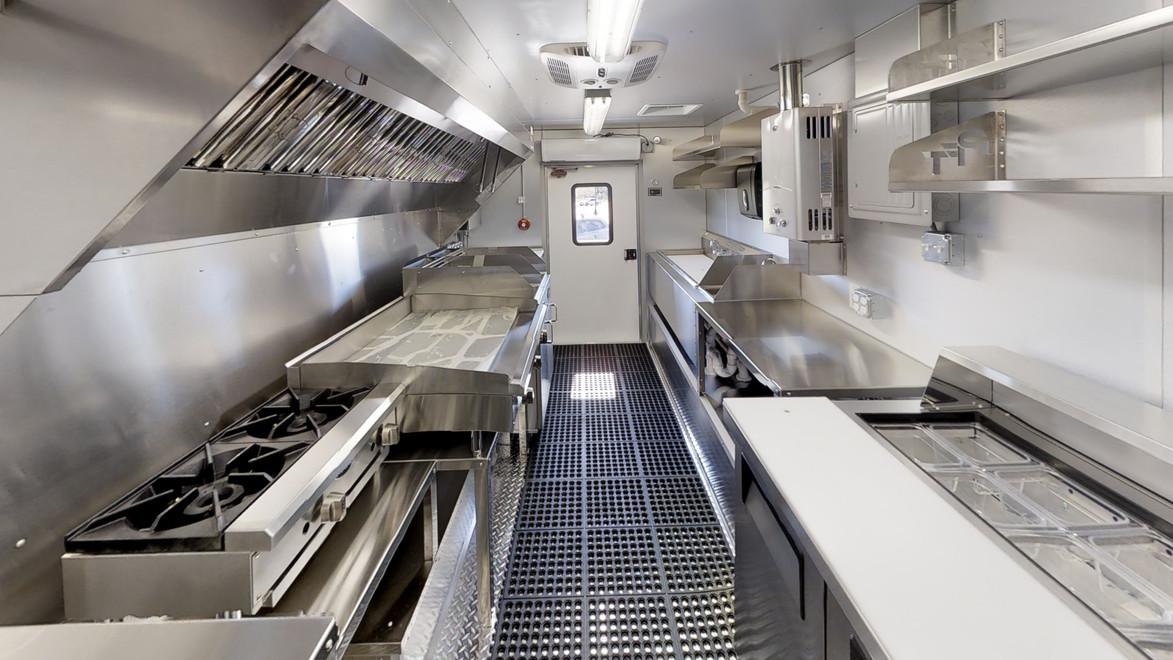 Custom Food Truck Kichen